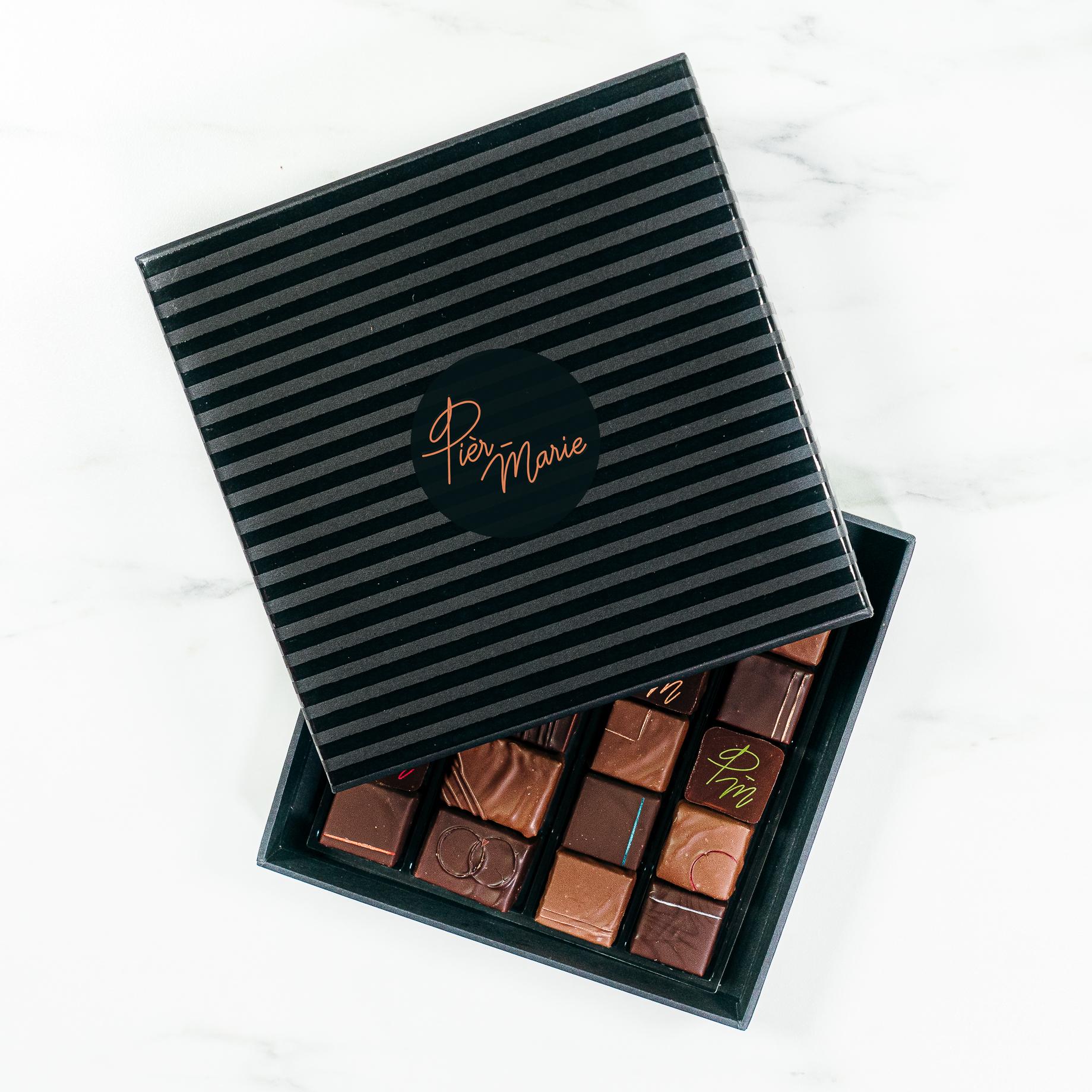 Coffret chocolat Prestige 130 gr