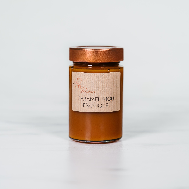 Caramel mou Exotique à tartiner